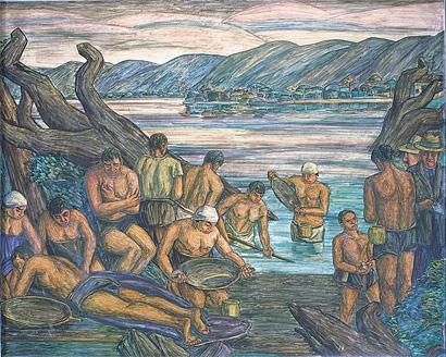 Obras del Museo Ed.366 / El barequeo - Periódico Vivir en El Poblado