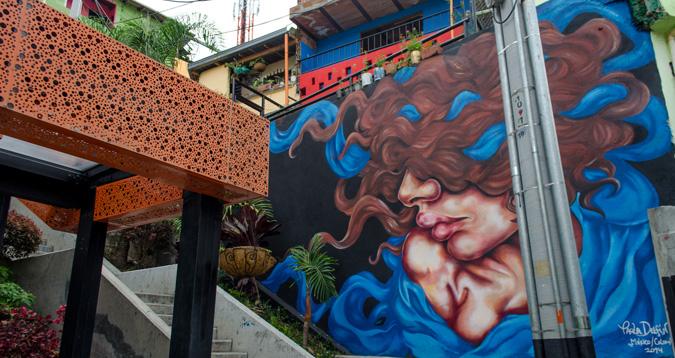 El Graffitour comuna 13
