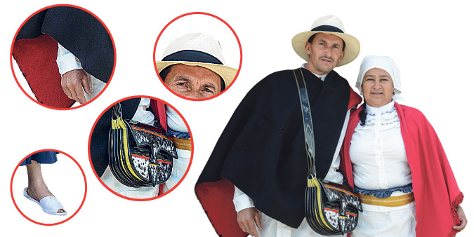 Vestuario del silletero