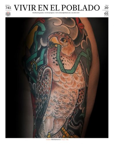Portada edición 745 ARTISTA: Félix Barrientos Técnica: Tatuaje japonés