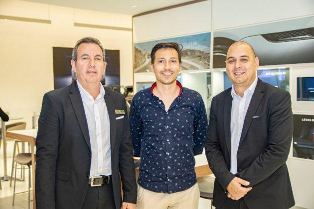 Luis Miguel Olguin, Felipe Vallejo y Diego Bedoya