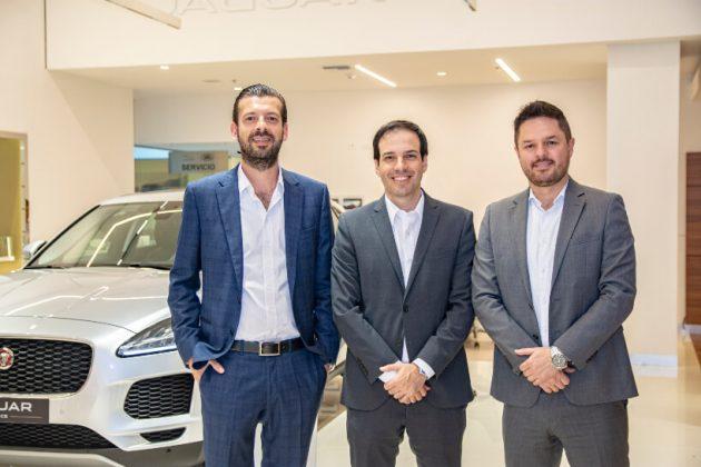 Vinicius Frata, Alejandro Botero y Eduardo Zabala