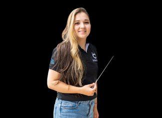 Ana María Patiño formación en dirección de orquesta en Eafit