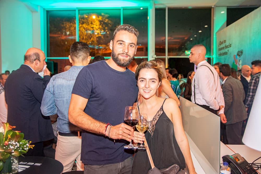 Esteban Giraldo y Paula Toro