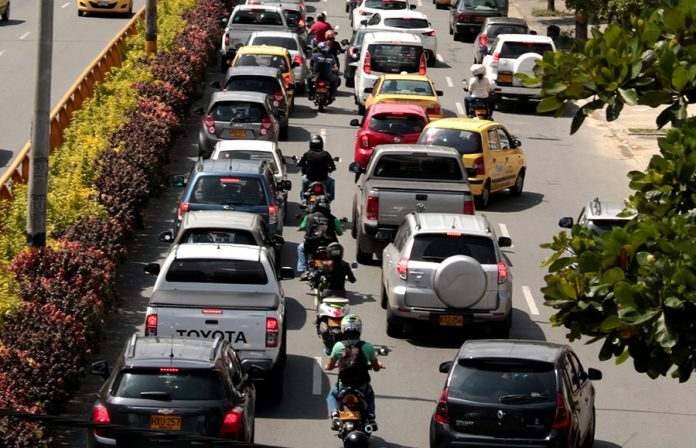 medellin motociclistas motos accidentes