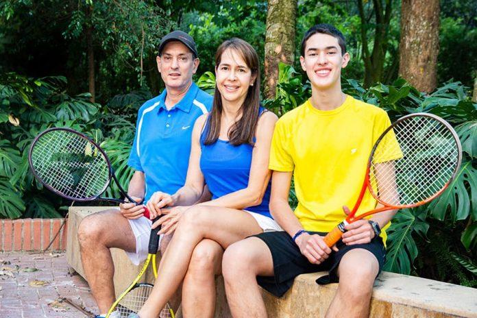 Los Arango Cataño, la dinastía del tenis en El Poblado
