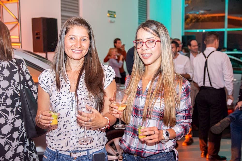 Milena Pérez y Laura Escobar