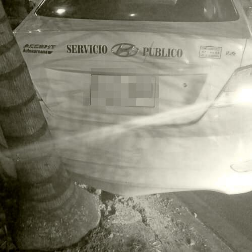 Taxista herido