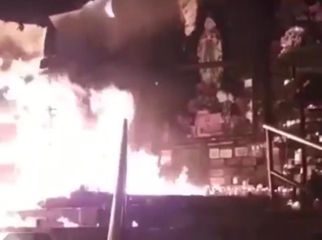 Incendio Virgen de La Aguacatala