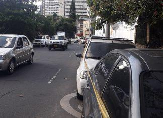 Policía taco Movilidad en Manila