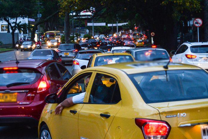 El taco en Medellín