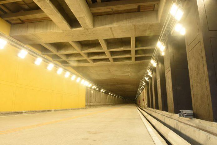 Habrá cierre del Túnel de Oriente esta noche