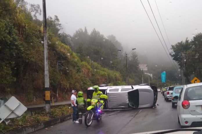Accidente en Las Palmas
