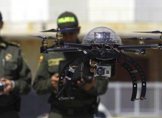 Medellín usa drones para vigilancia