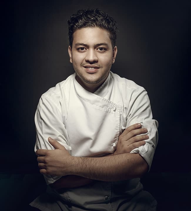 Emmanuel Taborda coordina el programa de Cocina y acción social
