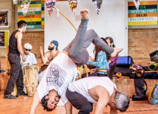 El capoeira en Medellín celebra su festival hasta el próximo doming