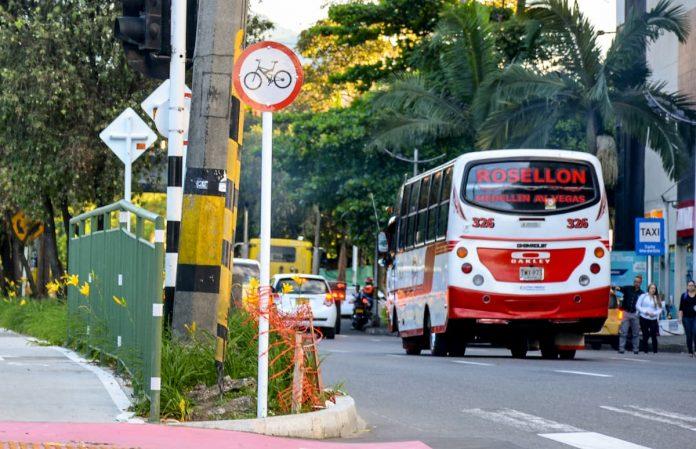 Paro rutas de buses