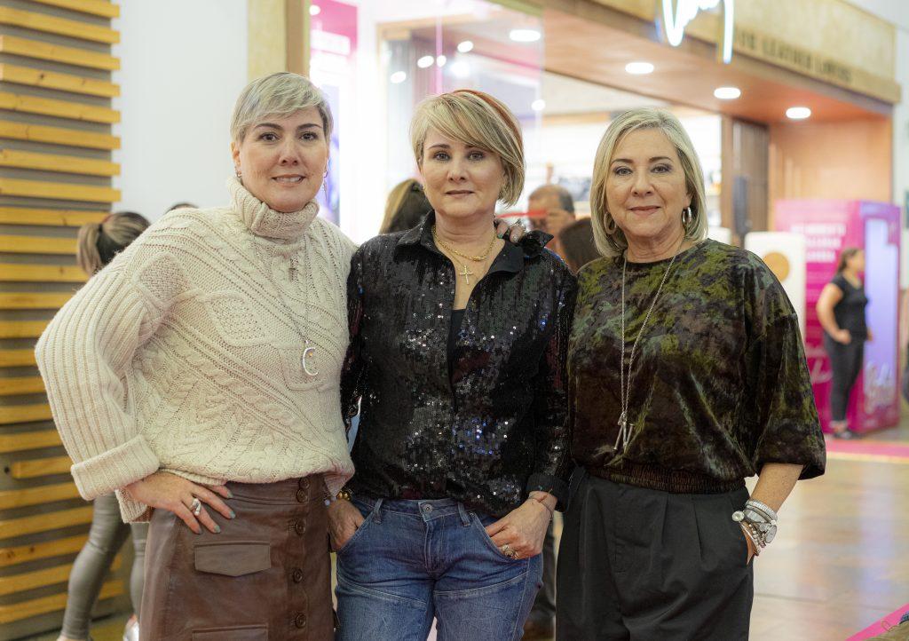 Claudia Jaramillo, Liliana Jaramillo y Nury Jaramillo