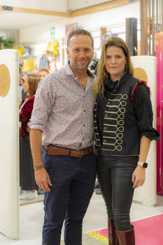 Fabrizio Fiorillo y Marcela Saldarriaga