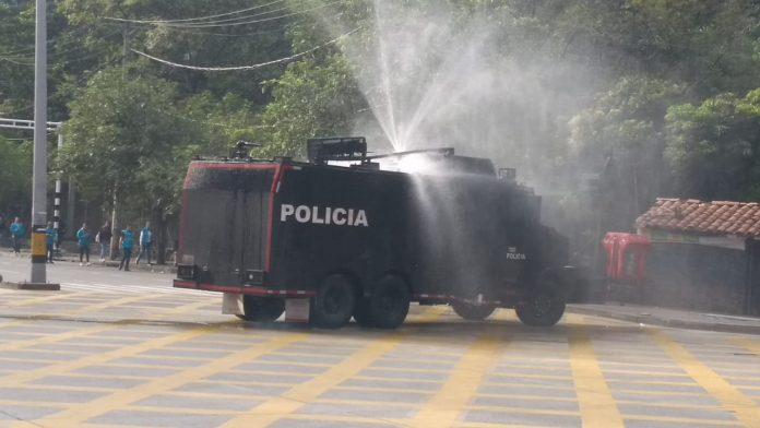 Disturbios UdeA