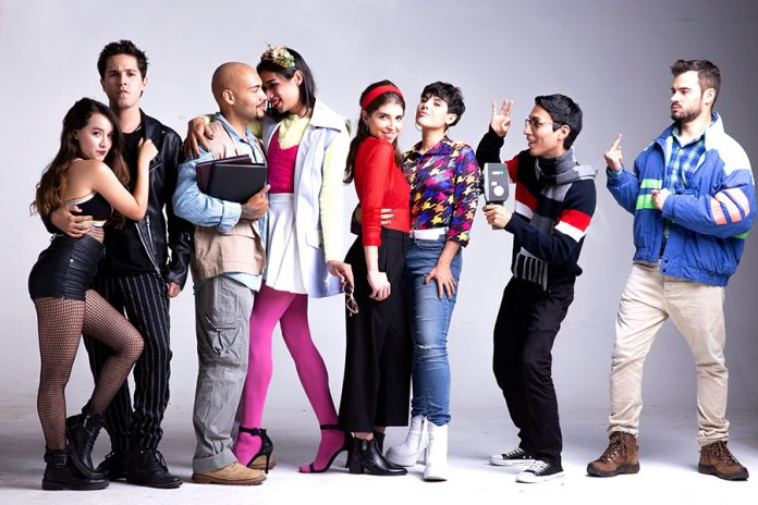 musical Rent en Medellin Teatro Popular