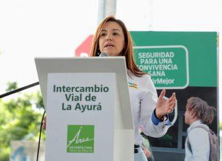 Sara Cuervo exalcaldesa de Envigado