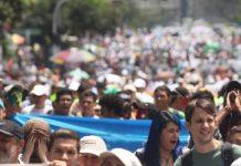 En Colombia las manifestaciones y los paros se han vuelto rutinarios