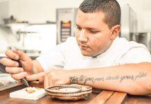 El cocinero Miguel Warren cocinero revelación en Bogotá Madrid Fusión