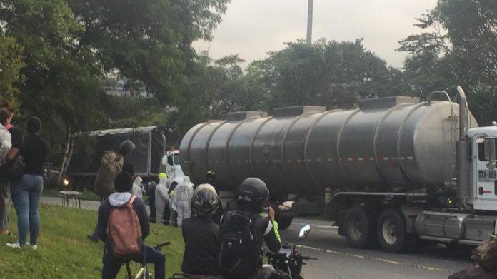 Motociclista muerto en la Autopista Sur