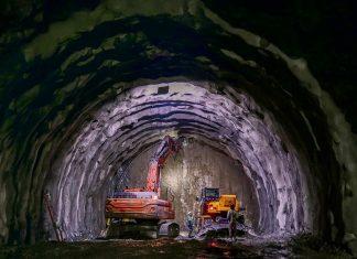 segundo túnel de Occidente