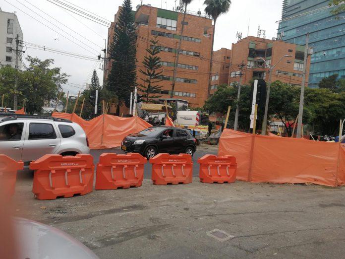 Cruce vial de la calle 5 con Av. El Poblado