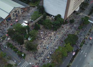 marcha en Ciudad del Río
