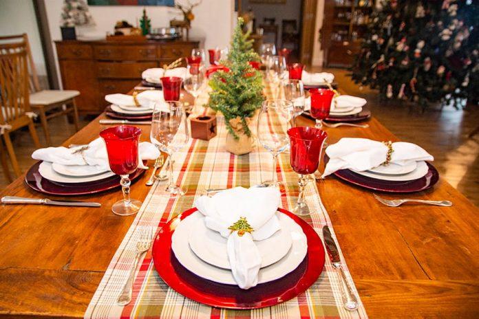 La mesa en Navidad es punto central de la celebración