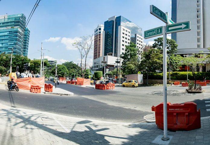 Contratista incumplió en la calle 5A con la avenida El Poblado