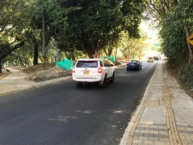Ingreso avenida El Poblado