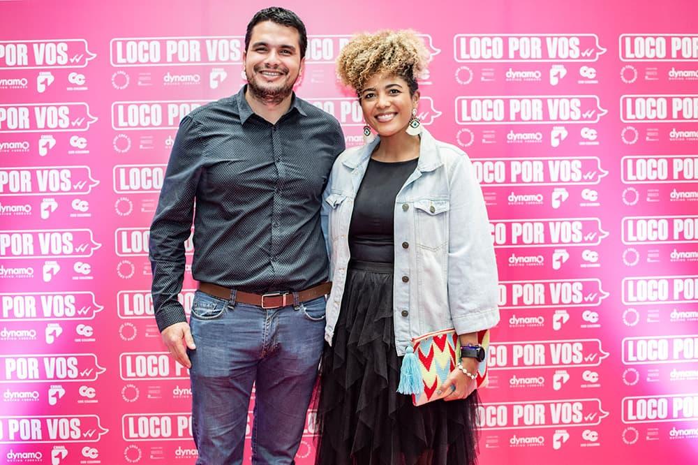 Premiere de Loco por vos Juan José Escobar y Daniela Maturana