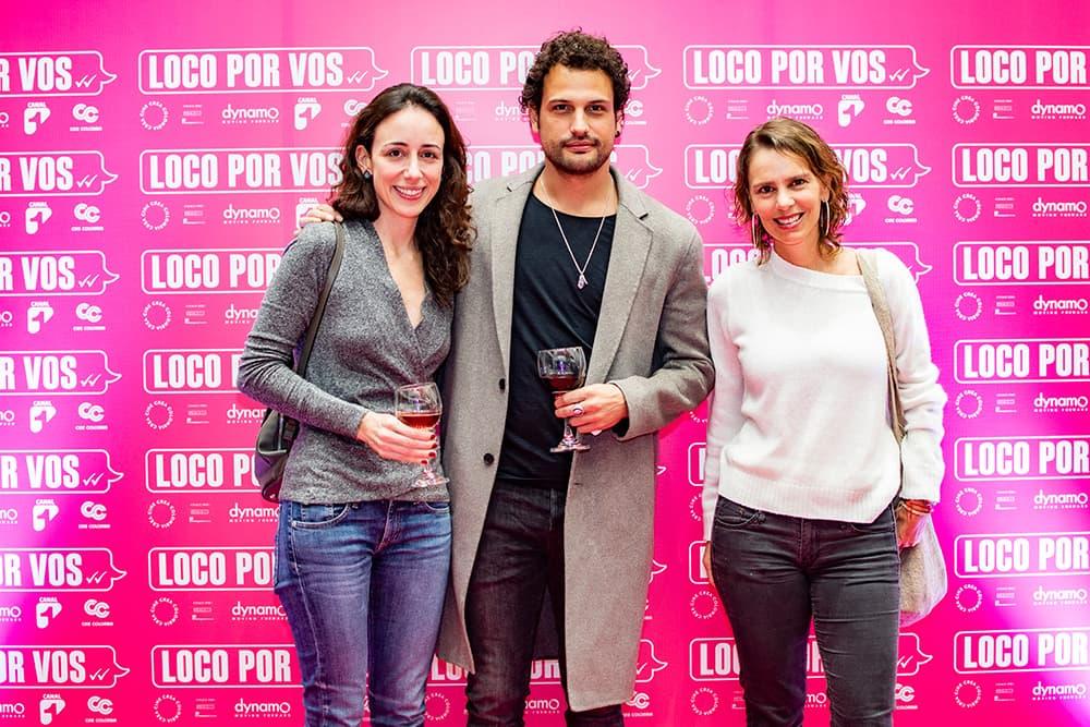 Premiere de Loco por vos María adelaida Naranjo, Roberto urbina y María Clara Aristizábal