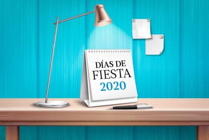 Días festivos 2020