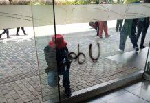vandalismo marcha en Medellín