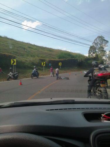 Accidente en Rionegro El Carmen