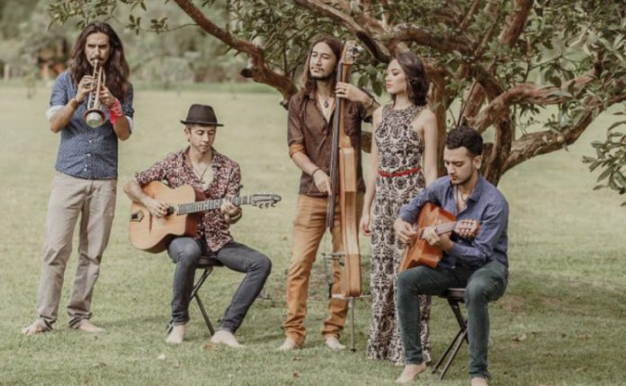 La Familia Solé y El gypsy jazz