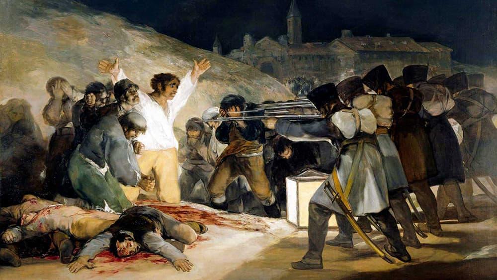 Francisco de Goya - Los fusilamientos del 3 de mayo de 1808 - Museo del Prado