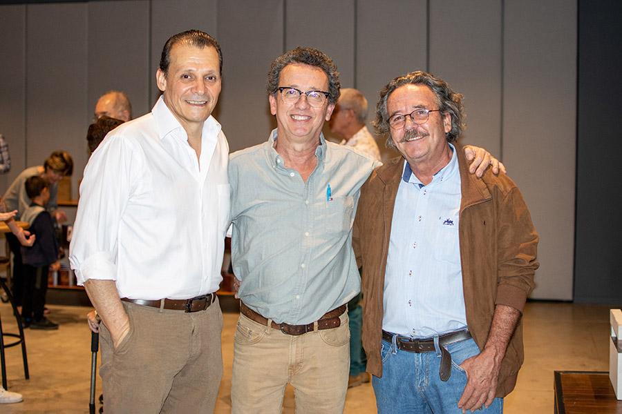Gabriel Medina, Alejandro castaño y Rafael castaño