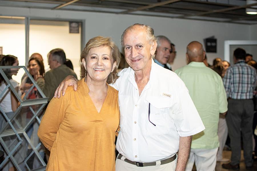 Gabriela Gómez y Carlos Arturo fernández
