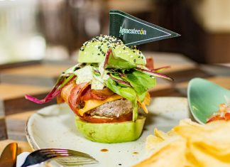 hamburguesa de aguacate