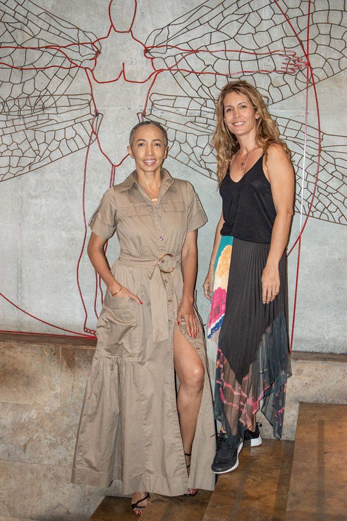 Isabel Hedoux y Claudia Mejía