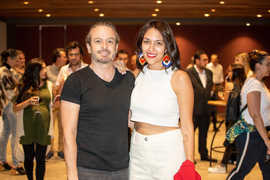 José Zapata y Laura Delgado