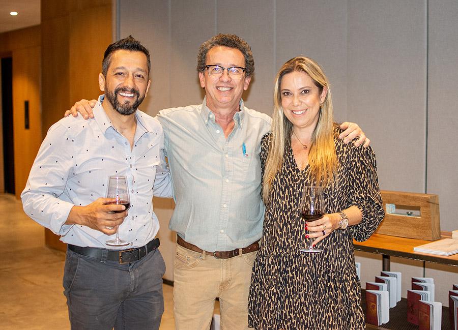 Juan Diego Sánchez, Alejandro Castaño y María Clara Quintero