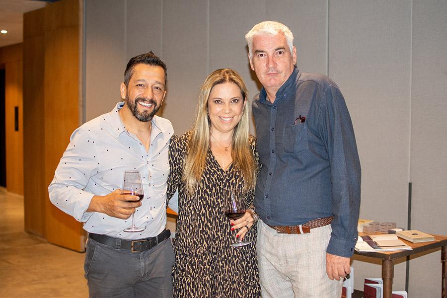 Juan Diego Sánchez, María Clara Quintero y Pablo de los Reyes