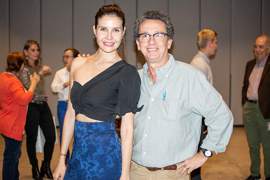 Laura Agudelo y Alejandro Castaño